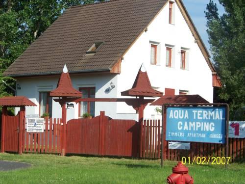 Aqua Termál Camping, Vendégházak